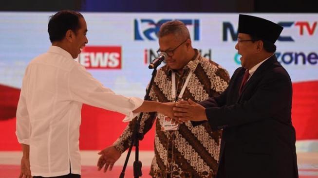 Jokowi: Pak Prabowo Kelihatannya Kurang Optimis, Prabowo : Kami Lebih Fokus Kepada Petani