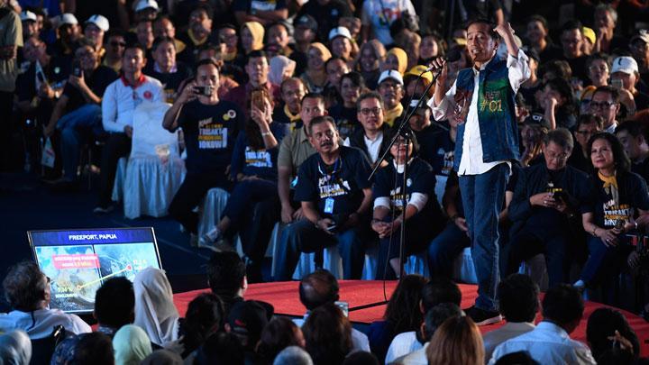 Tanggapi Pernyataan Prabowo, Jokowi Sebut Bocor … Bocor hingga 12 Kali