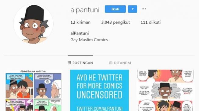 Sempat Diblokir, Akun Komik Gay Muncul Lagi di Instagram