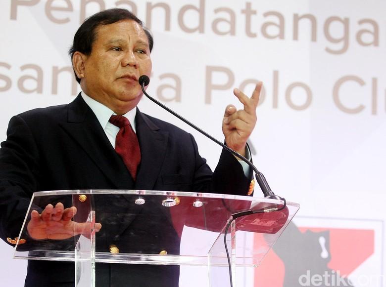 Prabowo: Lebih Baik Hancur daripada Dijajah Kembali!