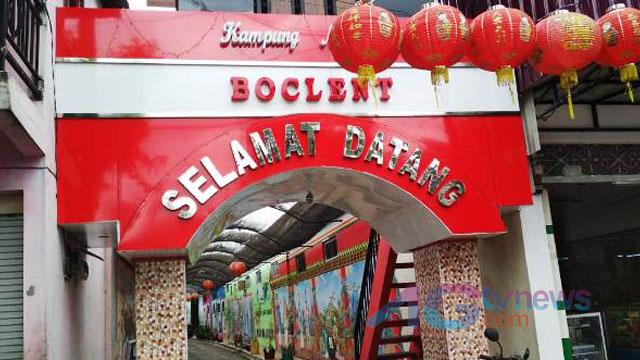 Kampung Wisata Nirwana Boclent ; Gang Sempit di Tengah Kota Blitar Disulap Jadi Wisata Bernuansa Tionghoa