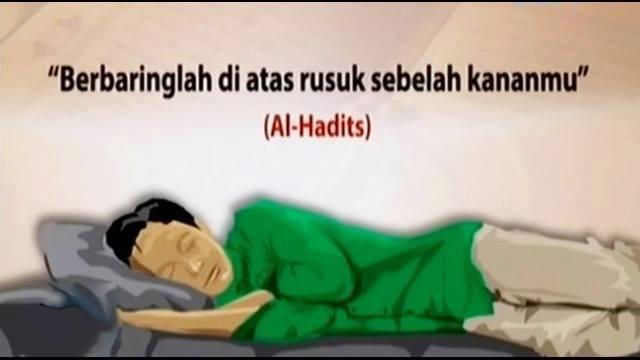 Rahasia Tidur Miring ke Kanan Anjuran Rasulullah Muhammad ﷺ