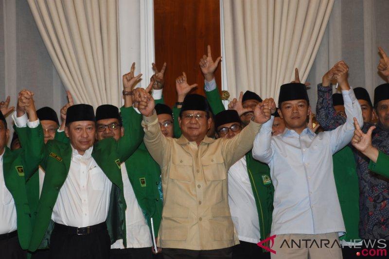 PPP versi Muktamar Jakarta dan GPK Deklarasikan Dukung Prabowo