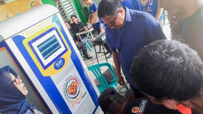 Perdana di Kaltim, ATM Beras Diluncurkan Buat Warga Gakin di Balikpapan