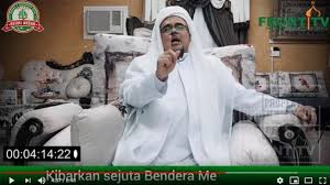 Di Malam Munajat 212, Habib Rizieq Sindir Penegakan Hukum Suka-suka
