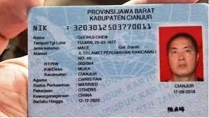 Viral Warga China Miliki E-KTP di Cianjur, Ini Fakta  Versi Menaker