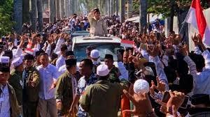 Luar Biasa Sambutan Madura untuk Prabowo,  Apakah Karena La Nyalla akan Potong Leher?