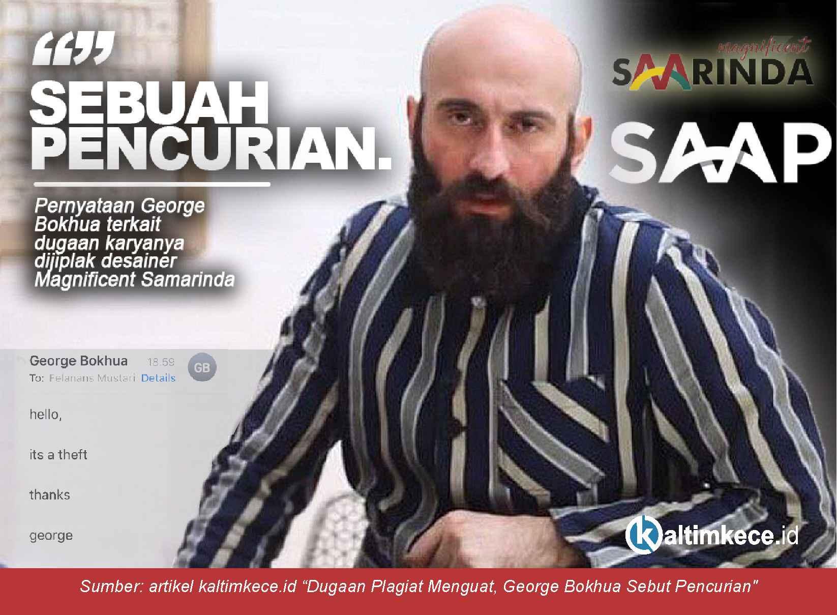 Pemenang Lelang Logo Samarinda Gak Mau Ngaku  Jiplak Desain