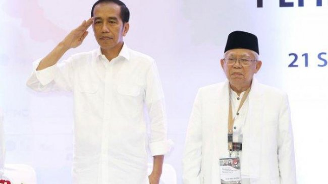 Ini 5 Isu Negatif Jokowi-Ma'ruf di Media Sosial