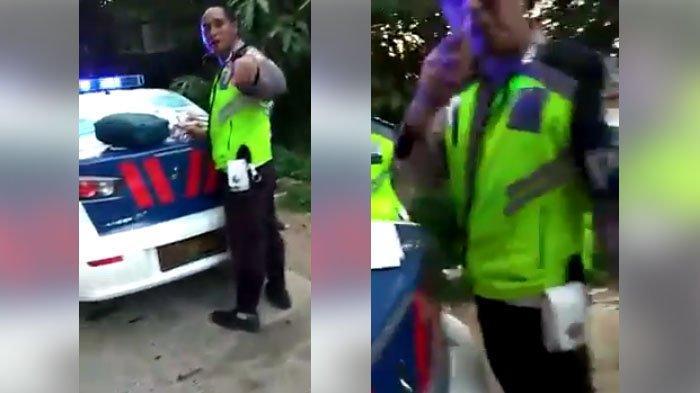 Setelah Viral, Video 2 Oknum Polisi yang Nyari Kesalahan Masyarakat, Menilang Sopir Truk Cabai Dicopot Jabatannya