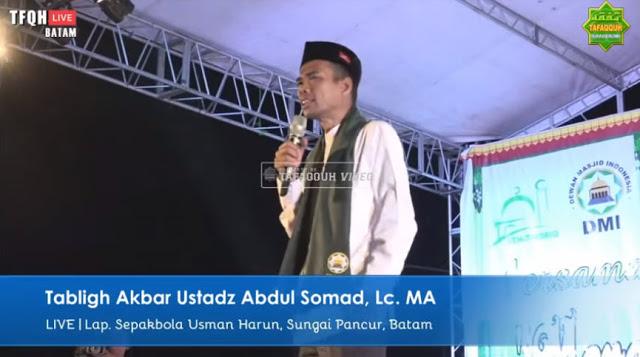 [Video] UAS Ungkap Alasan Sesungguhnya Menolak Jadi Cawapres Prabowo Subianto