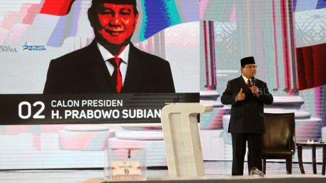 Prabowo Marah dengan Penonton Debat di Hotel Shangri La: Pertahanan Indonesia Rapuh, Kalian Ketawa!