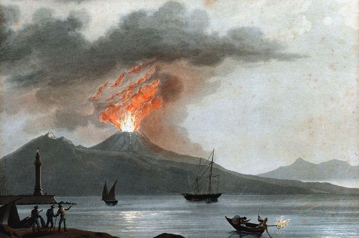 """""""Kisah Pompeii"""",  Letusan Gunung Hampir Tewaskan Semua Penduduk Kota yang Bergelimang Dosa Ini"""
