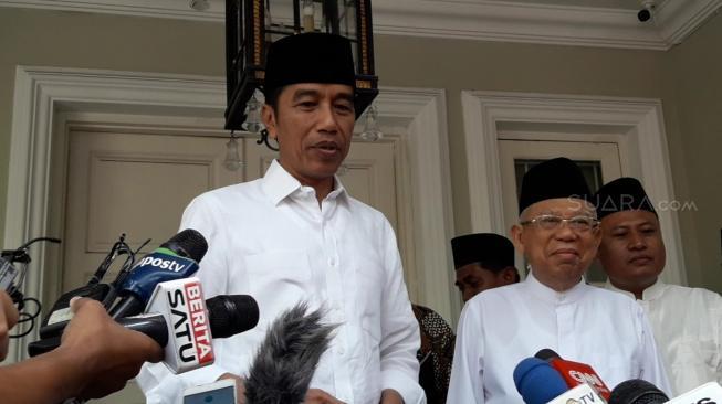 Jokowi – Ma'ruf Amin Memulai Kampanye Terbukanya di Lumbung Suara PDIP