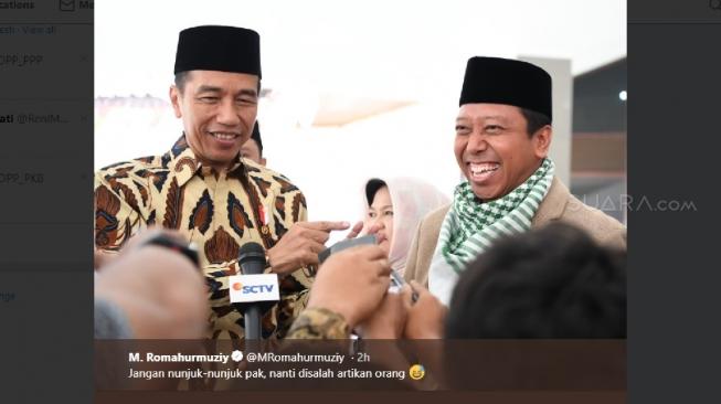 Jubir Prabowo: Kasihan Romy, Beliau Loyalisnya Jokowi, Masa Enggak Dibesuk , Jangan Habis Manis Sepah Dibuang Dong