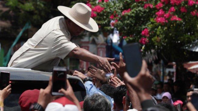 Kampanye Perdana di Manado, Prabowo: Torang Samua Basudara