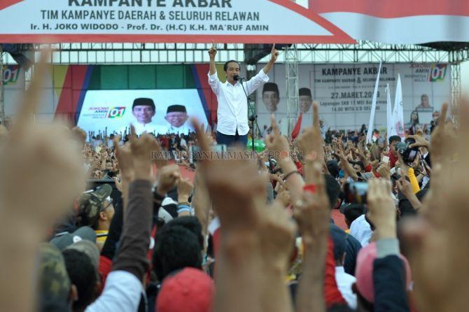 Apa Habar Piyan-piyan Sabarataan, Jokowi Janjikan Kereta Api Trans Kalimantan