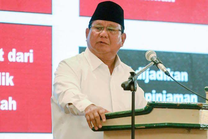 Prabowo Janji Jika Terpilih akan Hentikan Kelakuan Elit-elit yang Menipu Rakyat
