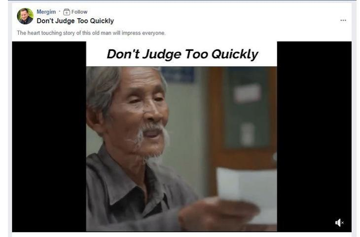 Video Mengharukan Tentang Pemulung Tua Ini Viral di Facebook, Ada Pelajaran yang Bisa Dipetik