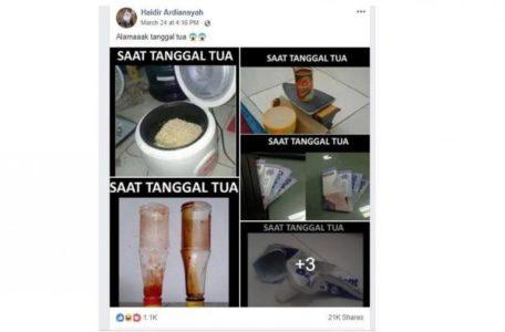 Tanda-tanda Tanggal Tua, Ini Di antara 7 Penampakannya dari Netizen, Apakah Kalian Pernah Mengalaminya?