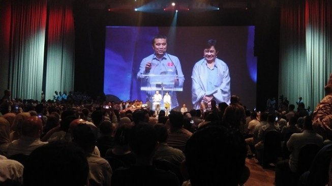 Di Depan Prabowo, Erwin Aksa Sindir Ketua HIPMI Pendukung Jokowi