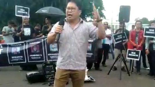 Orasi Saat Aksi Kamisan, Aktifis Robertus Robet Ditangkap Polisi di Rumahnya