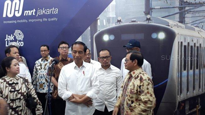 Wah Di Ujung Jabatan Periode, Jokowi akan Peletakan Batu Pertama Proyek Transportasi Terintegrasi di Jabodetabek Senilai Rp. 571 Trilyun
