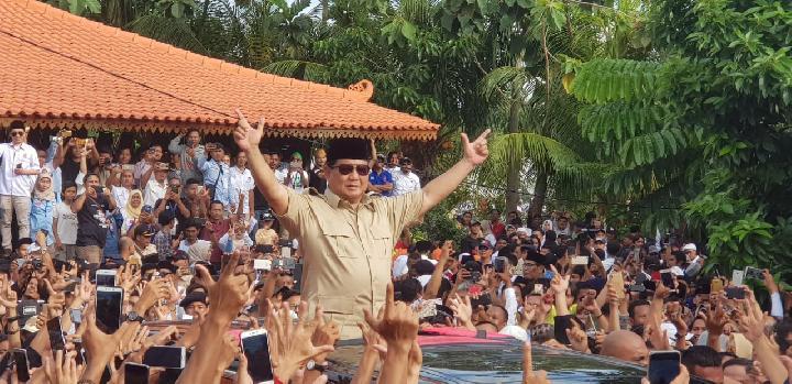 Sekelompok Masyarakat Gelar Deklarasi Putih untuk Prabowo