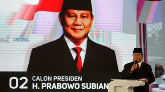 Prabowo ke Jokowi: Bapak Banyak Mendapat Keterangan yang Menyesatkan!