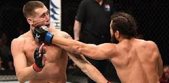 Petarung ini Pukul Petarung UFC Lainnya Usai Wawancara  Laga UFC London, Simak Videonya