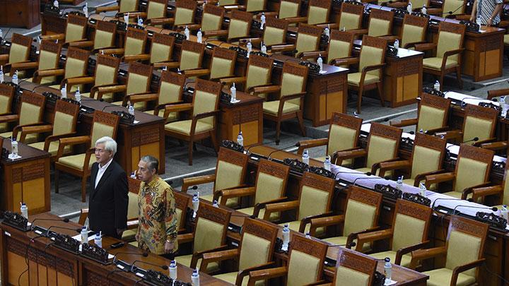Rapat Paripurna DPR Hanya Dihadiri 20-an Anggota, yang Lain Ke Mana?