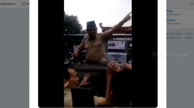 Nitizen Termakan Hoaks, Prabowo Bukan Mengusir,  Tapi Suruh Aparat Minta Maaf ke Rakyat yang Dikasari, Baca Faktanya