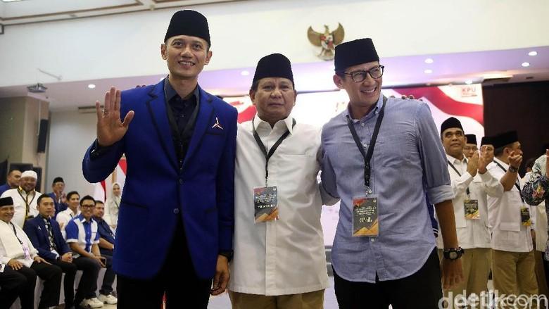 AHY Ke Rumah Prabowo, Katanya Bicarakan Jadwal Kampanye Akbar Tapi Pertemuan Tertutup