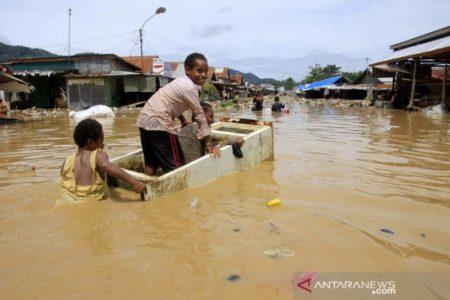 Banjir di Jayapura Sudah Menelan Korban Meninggal  61 orang
