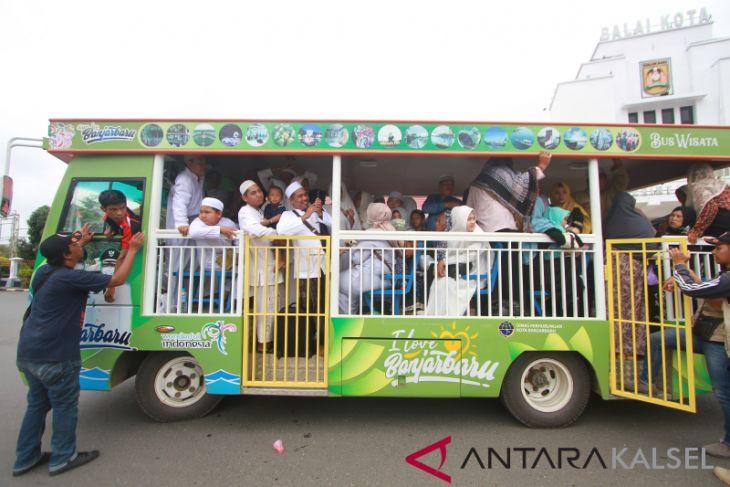 Angkutan Gratis ke lokasi Haul ke 14 Abah Guru Sekumpul