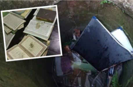 Kurang Ajar!  Ada Masjid di Banyumas Dirusak, Kitab-Kitab Dibuang ke Sumur, Al Quran Dikotori Tanah