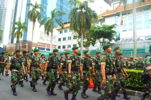 Dwi Fungsi TNI, dinilai Hidupkan Hantu di Siang Bolong