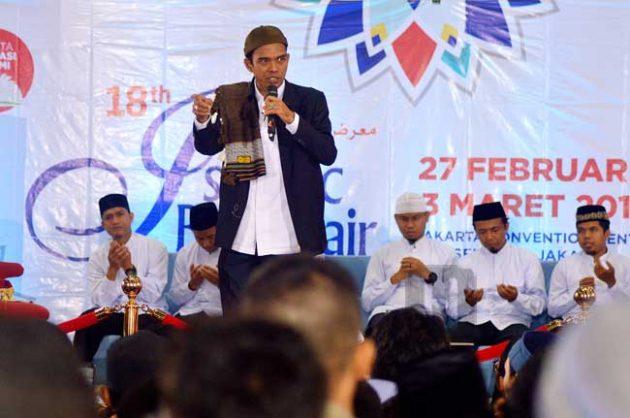 UAS : Bila Ada Calon pemimpin Berpolitik Uang, Ambil Uangnya Untuk Pembangunan Masjid