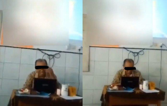 Viral Oknum Guru Nonton Film Porno Saat Sedang Ngajar, Gak Sadar Laptop Terhubung ke Proyektor