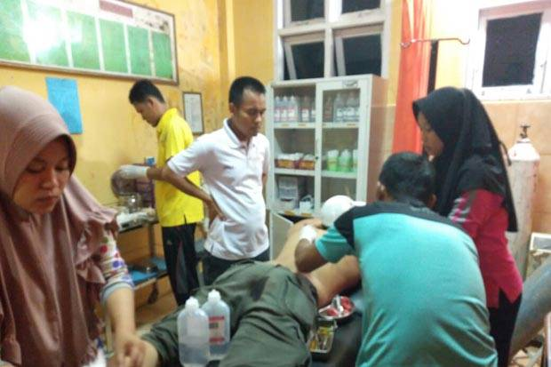 Polisi di Jambi  Ditikam Bandar Narkoba saat Geledah Rumah Pelaku