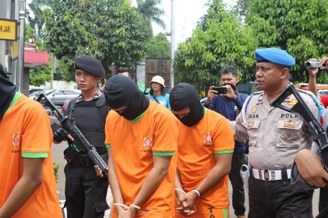 Caleg DPRD Bogor Ditangkap Polisi,  Pimpin Merampok Nasabah Bank Modus Kempis Ban