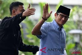 Sandiaga Wa-an dengan AHY, Demokrat Masih di Koalisi Indonesia Adil Makmur