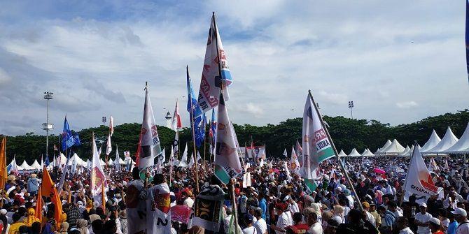 Kampanye Akbar di Makassar, Berikut Janji 100 Hari Prabowo