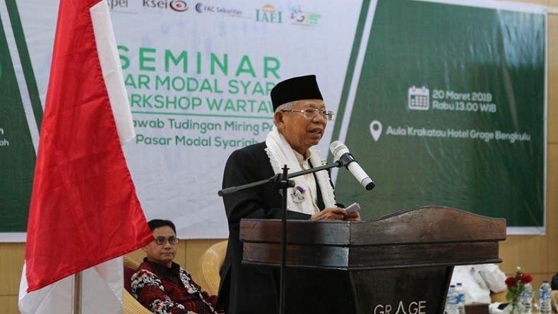 """Ma'ruf Amin : Rugi Bila Tidak Pilih Jokowi,  Sudah Membangun Landasan Untuk """"Tinggal Landas"""""""