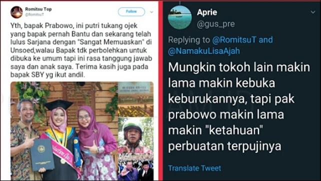 Ketahuan Siapa Sebenarnya Prabowo  Tukang Ojek Bocorkan Rahasia :  Ada Apa dengan Putrinya?