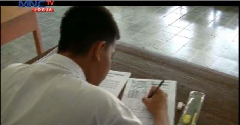 Sekolah Lain UN Sudah Pakai Komputer, 15 Sekolah SMP di Nunukan  Ini  Masih Pakai  Kertas