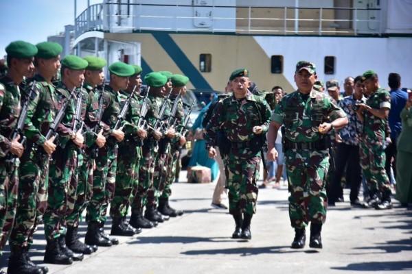 600 Prajurit TNI Dikirim Ke Papua Untuk Kawal Proyek Infrastruktur