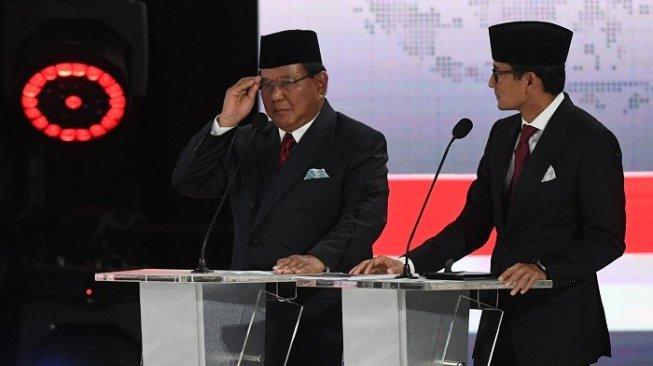Prabowo – Sandiaga Janji Tak Ambil Gaji Kalau Jadi Presiden dan Wapres