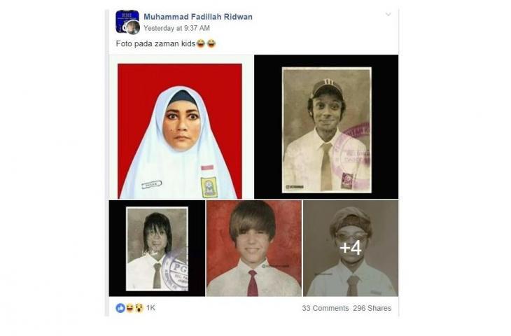 Diedit Netizen, Ini Penampakan Masa Kecil Lucinta Luna dan Artis Lainnya