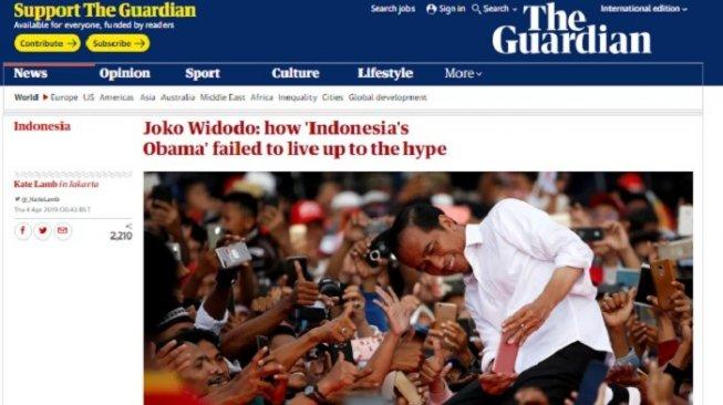 Media Asing: Jokowi, Obama Indonesia yang Gagal Penuhi Ekspektasi